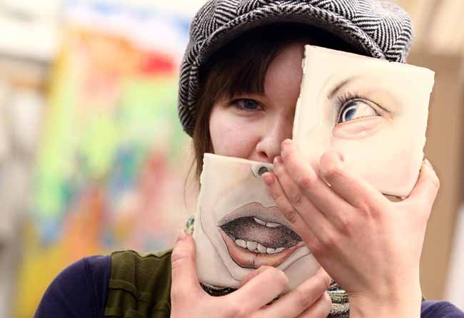 'Pan·té·mím' student art show examines femininity