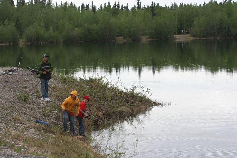 ADFG stocking Alaska lakes, ponds with fish from Ruth