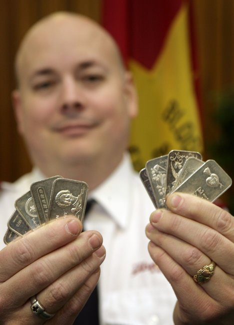 Fairbanks Salvation Army Finds Silver Bars In Holiday