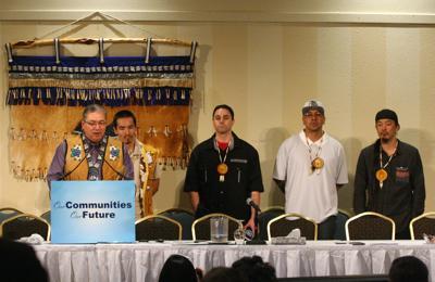 Fairbanks Four at TCC convention