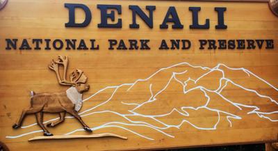Denali National Park and Preserve sign