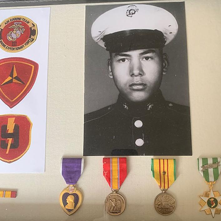 Honoring a Fairbanks Marine killed in Vietnam