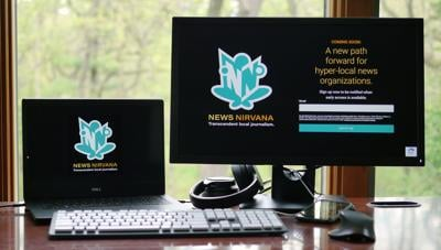 Screenshot: News Nirvana preview