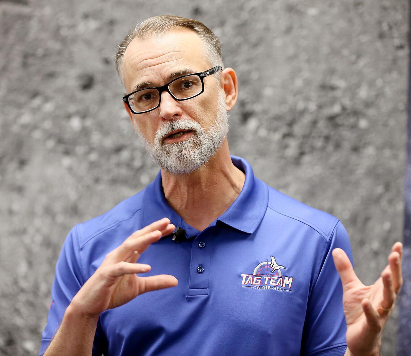 OSIRIS-REx Spacecraft, Dante Lauretta