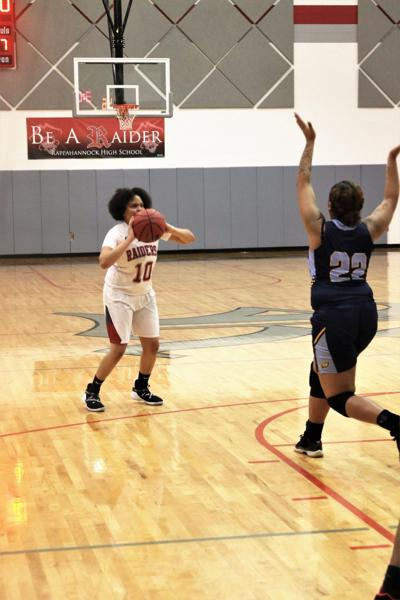 Lady Raiders get two 'W's'