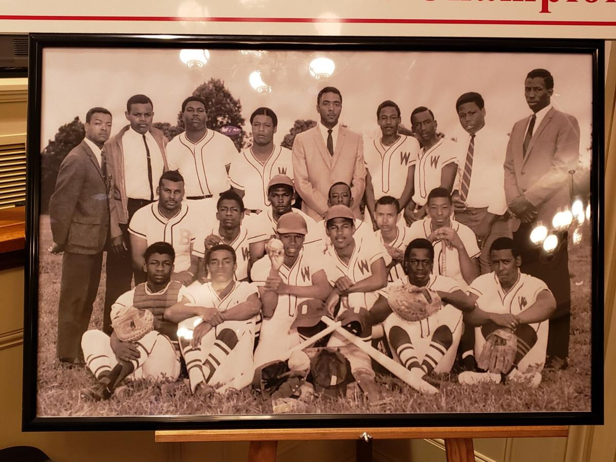 The 1969 champions, the Fighting Warriors.