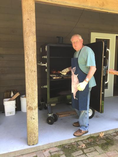 BBQ Master Sid Mace of Reedville will be cooking up BBQ pulled pork for take-out at the Tavern in Heathsville on May 30, the Sunday of the Memorial Day Weekend.