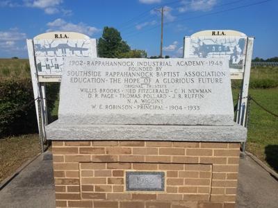 RI Academy Memorial Marker