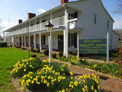 """Rice's Hotel/Hughlett's Tavern is the sponsor of the Heathsville Farmers Market, a component of the """"Make It a Heathsville Saturday"""" community initiative."""