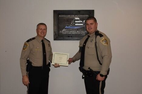 Zach Kues has been promoted to patrol Sergeant.