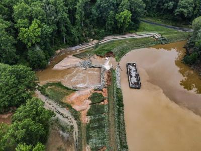 Chandler's Mill Pond Dam