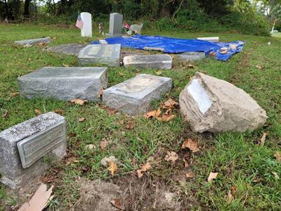 cemetery crash