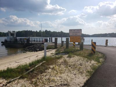"""""""No Trespassing"""" signs at Merry Point Ferry Marina were brought up at the recent Lancaster Board of Supervisors meeting."""