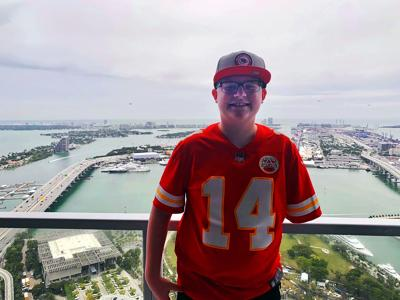 Savannah teen in Miami for special Super Bowl experience