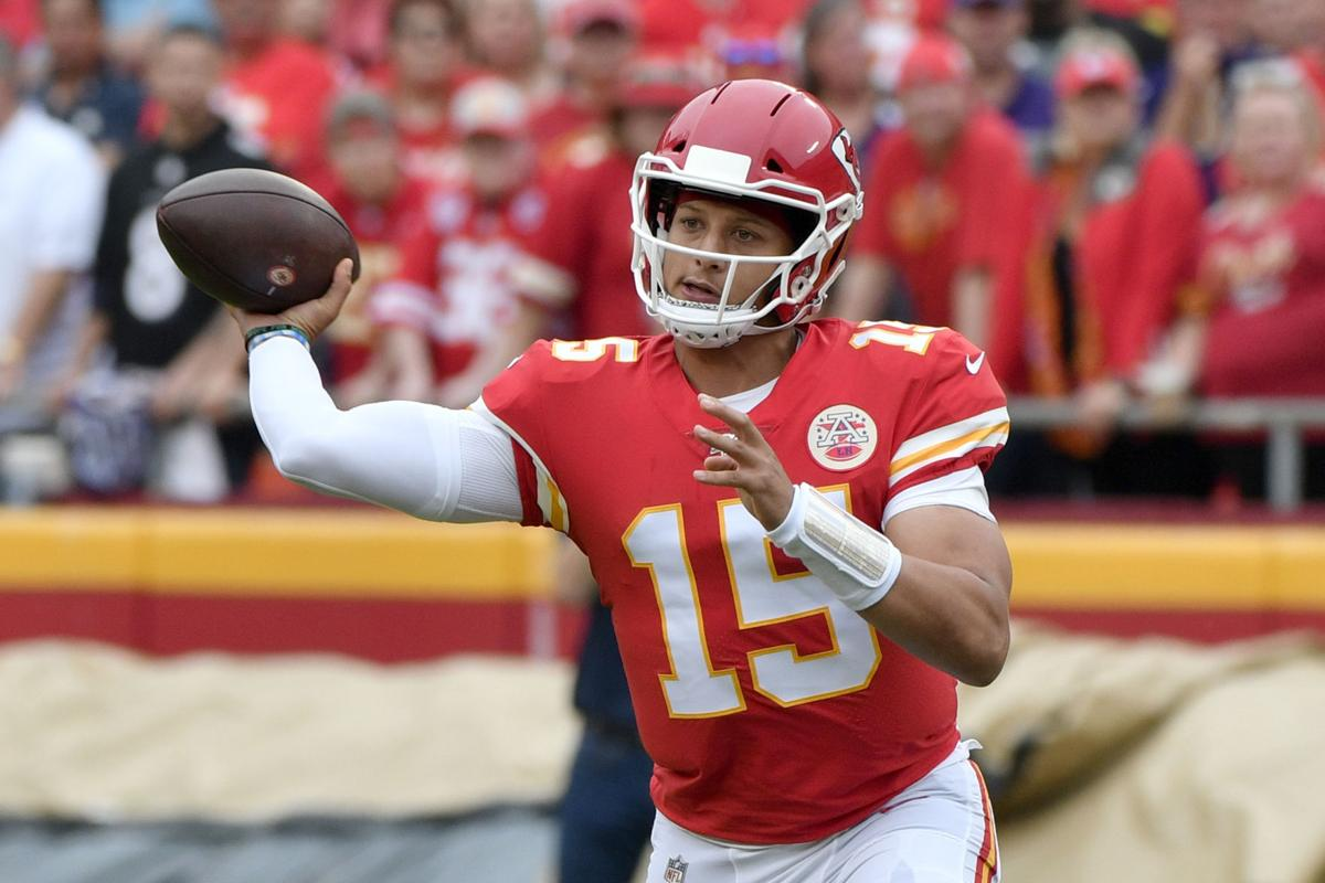 Record Breaking Chiefs Qb Patrick Mahomes Respects Lions
