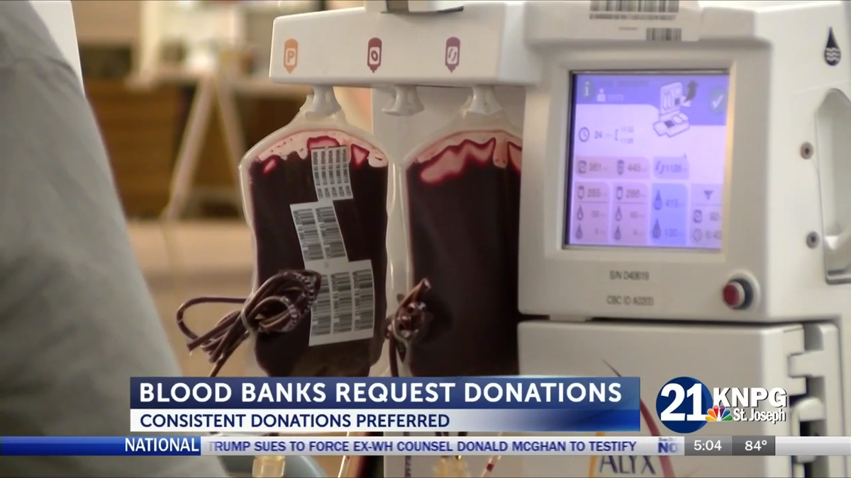 VIDEO: Blood blank requests more consistent donations in wake of mass  shootings