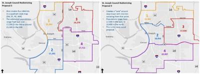 District map proposals