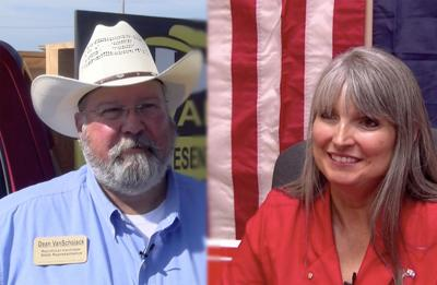 Two republican candidates for House Rep. District 9