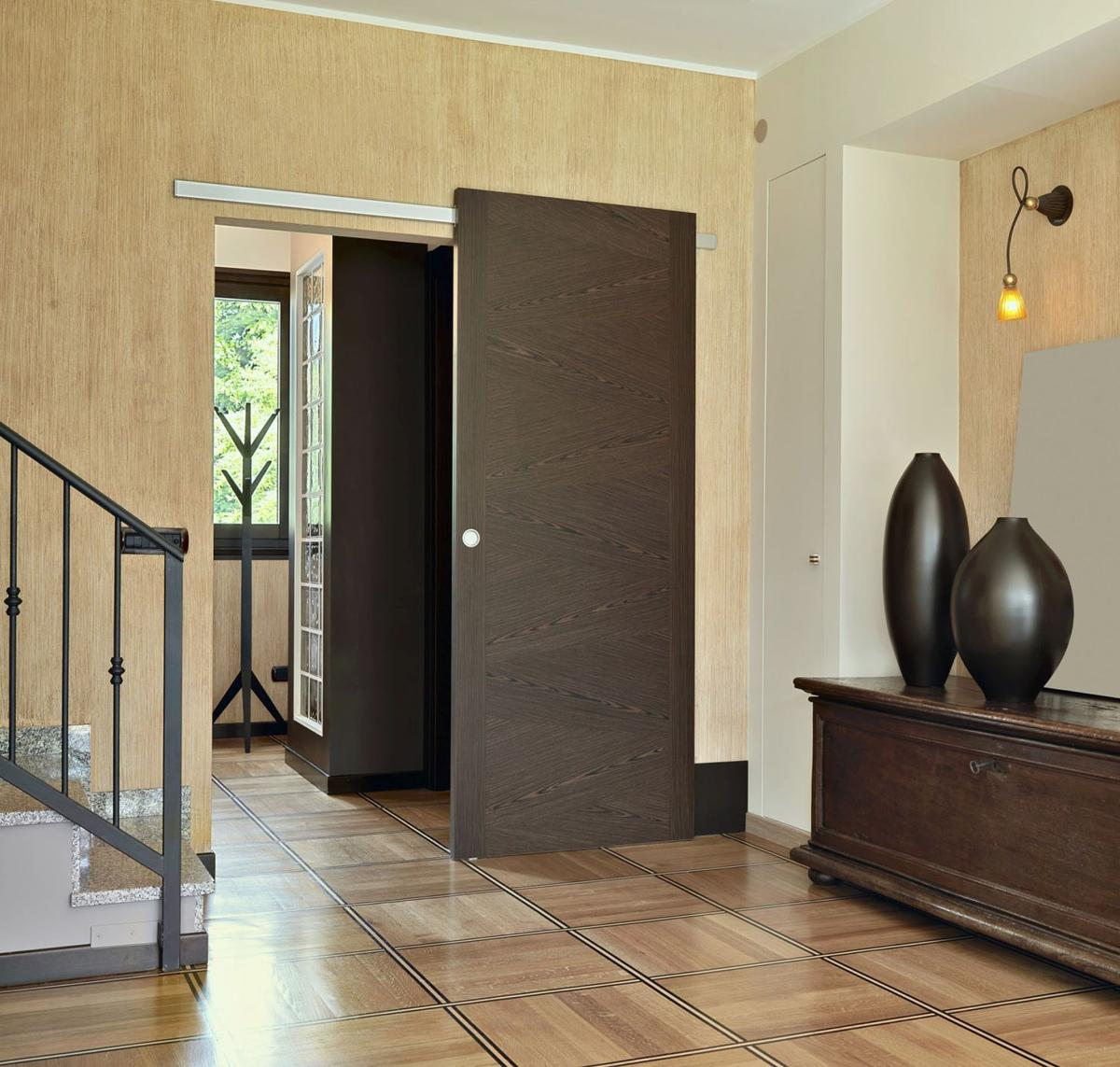 Changes To Interior Doors Add Subtle Drama To Home Home Garden