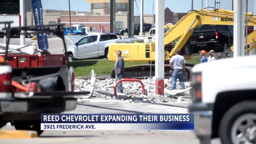 Reed Chevrolet expanding to former gas station lot | Business ...