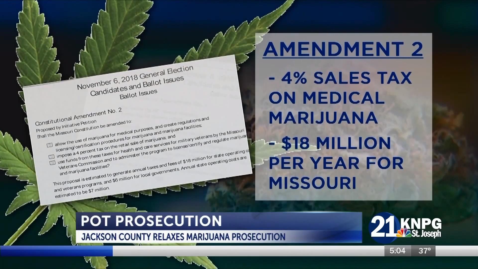 VIDEO: Local prosecutors will still charge marijuana cases