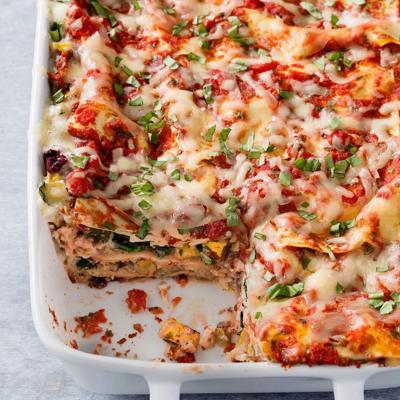 Food Column ATK Vegetable Lasagna
