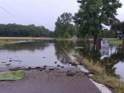 Flooding at Lewis and Clark Village (copy)