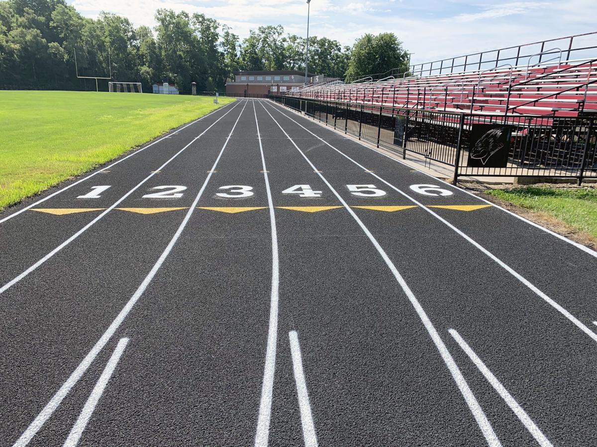 New Benton track