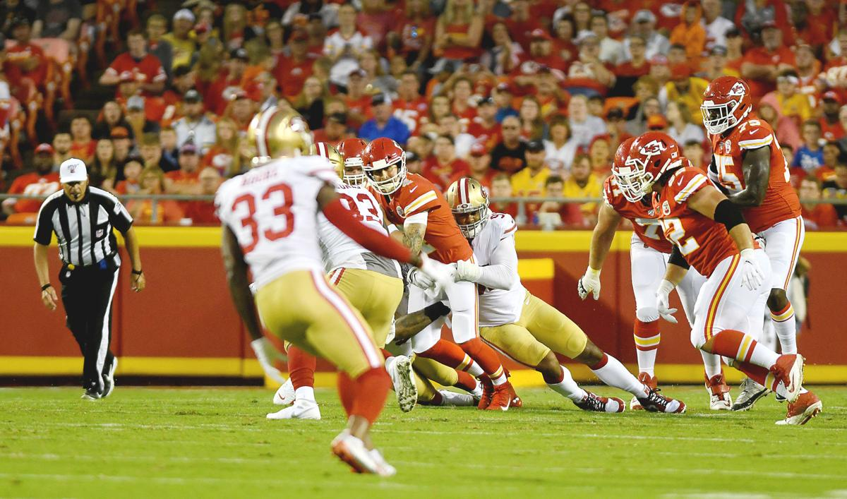 Chiefs lose backup QB Henne