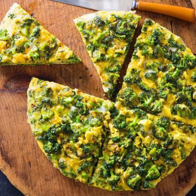 Food Column ATK Frittata with Broccoli and Turmeric