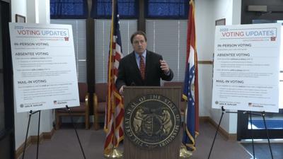 Ashcroft holds media event in St. Joseph