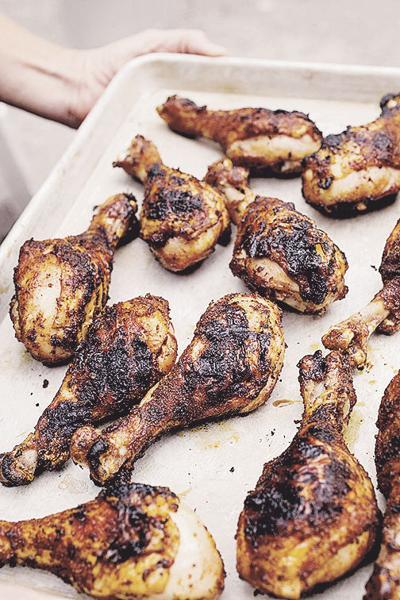 Food Column ATK Chicken Drumsticks