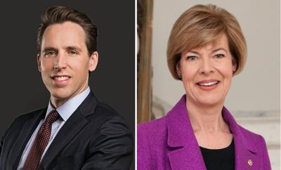 Sens. Josh Hawley and Tammy Baldwin