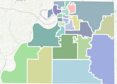 Amendment three districts