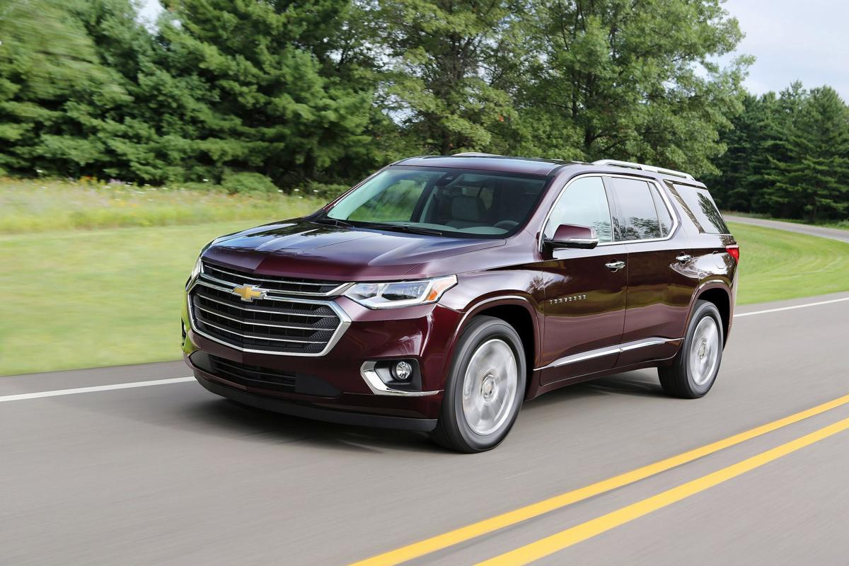 2018 Chevy Traverse High Country Takes Family Suvs To The Peak