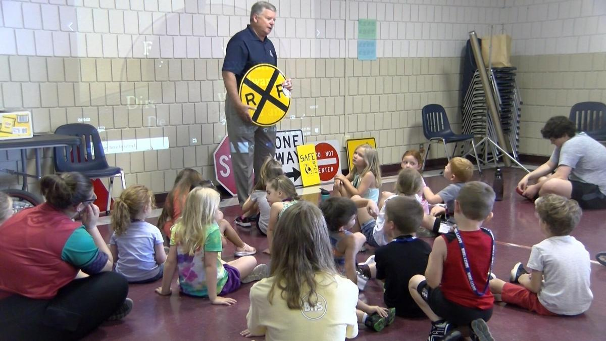 Safety town is back to teach kids railroad safety