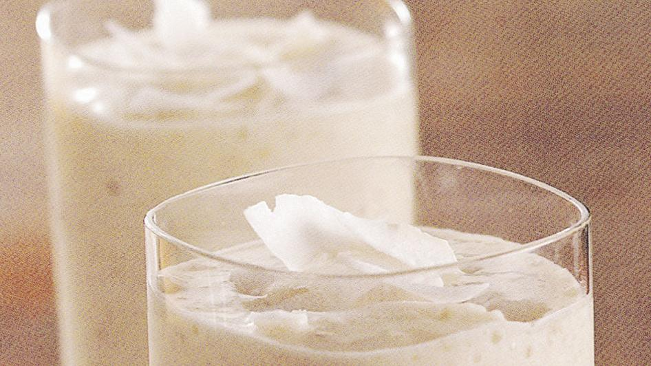 Fiber-Filled Banana Colada Smoothie