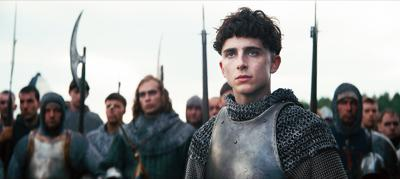 In 'The King,' Chalamet inherits the throne
