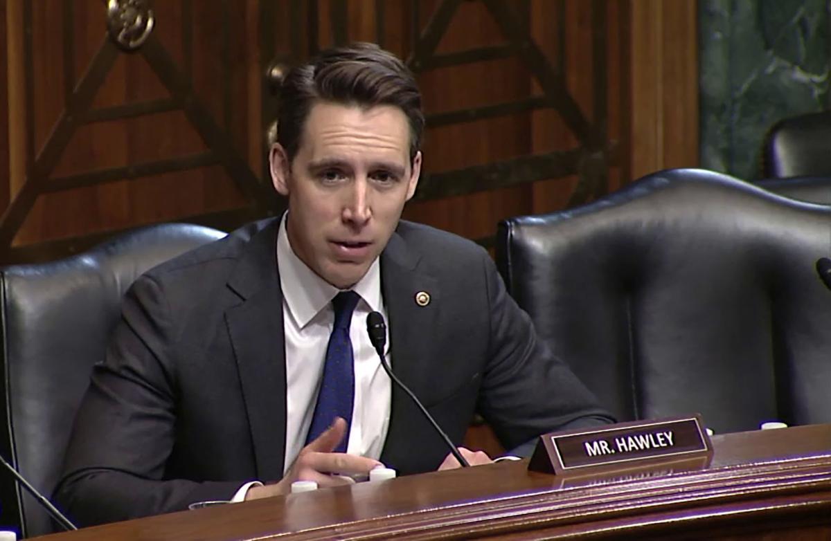 Senator Josh Hawley on Judiciary Committee