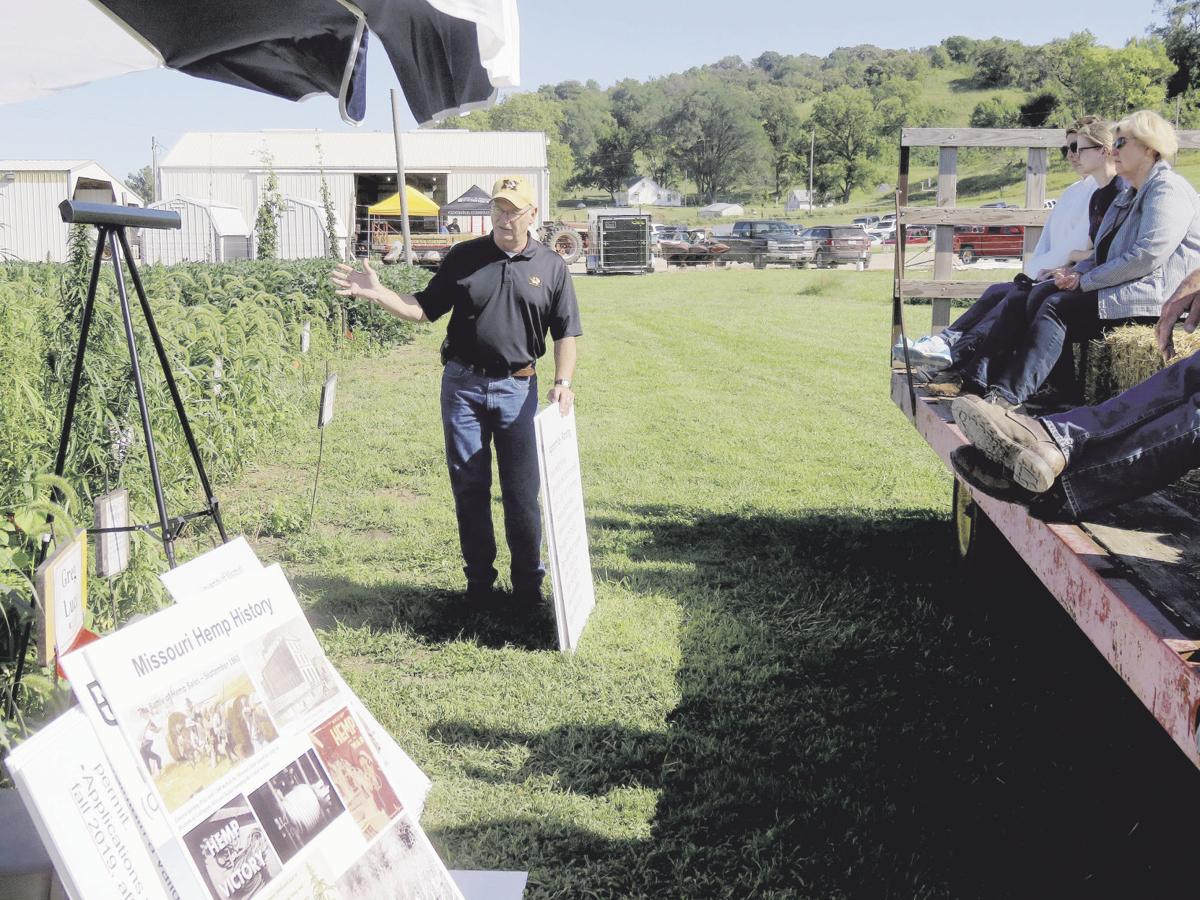 Field day consider options for industrial hemp