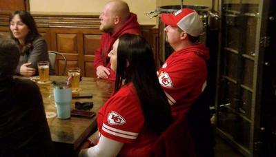 Chief's fans Super Bowl reaction
