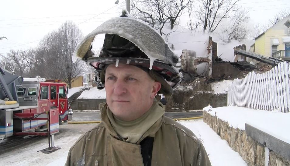 St. Joseph Fire Department fights fire and ice