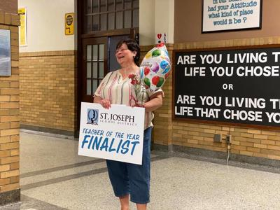 Teacher of the year finalists recognized