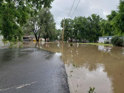 South End flooding picture from July 20, 2021
