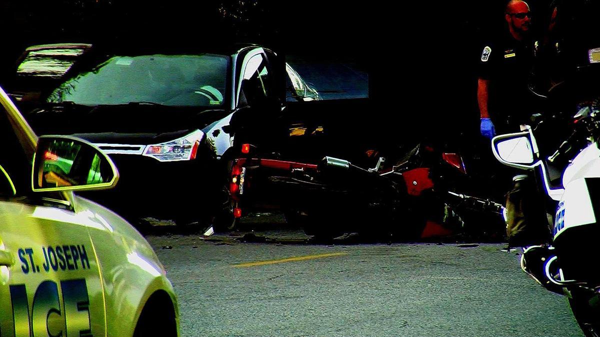 motorcycle driver killed in crash local news newspressnow com