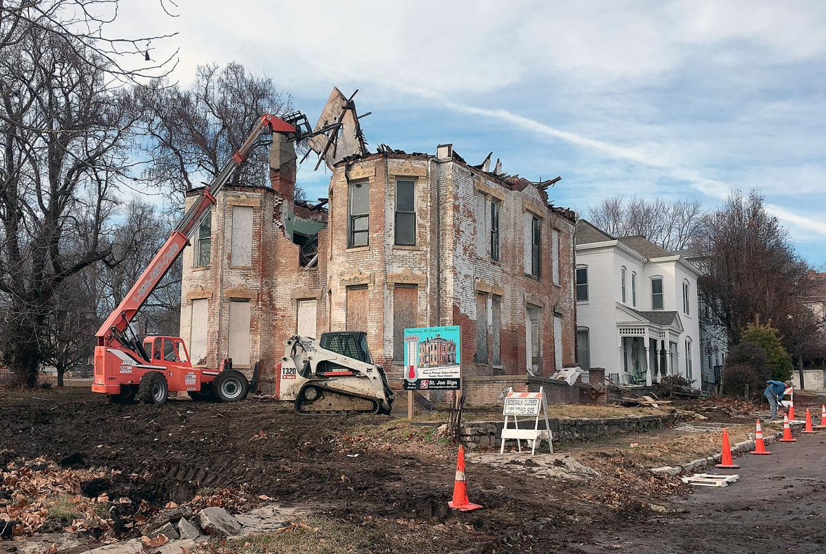 roof removal proves progress for cracker house project local