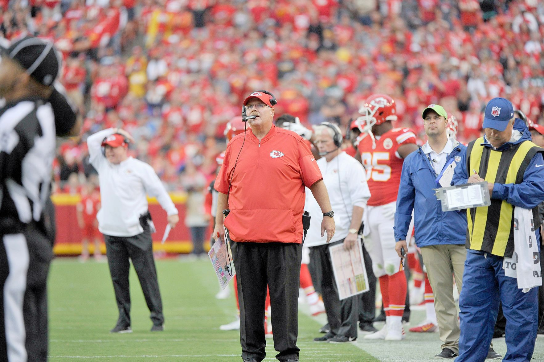 Chiefs' CEO Hunt talks about decision to move on from Dorsey