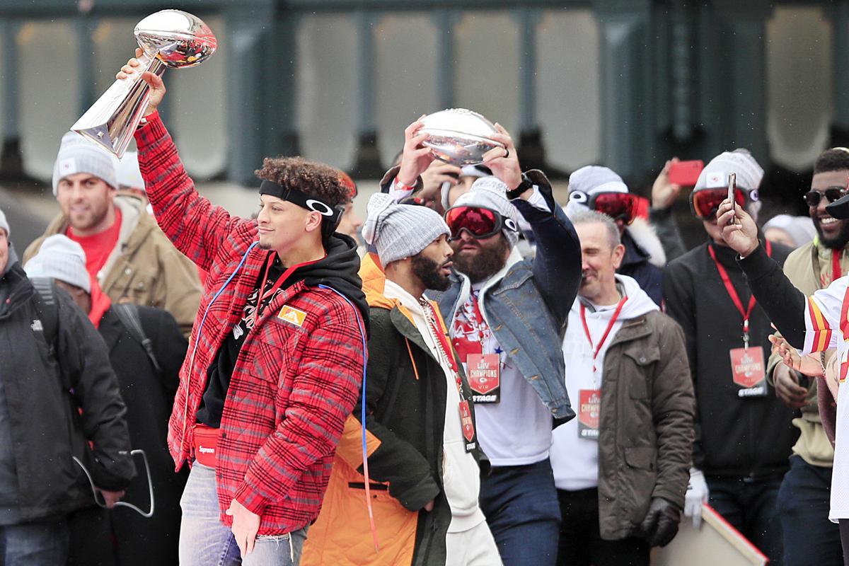 Kansas City Chiefs Super Bowl celebration