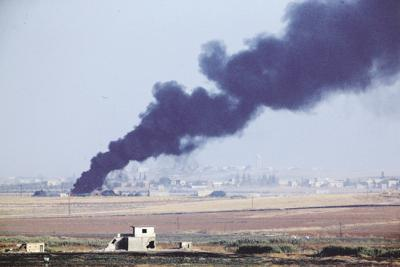 APTOPIX Turkey US Syria