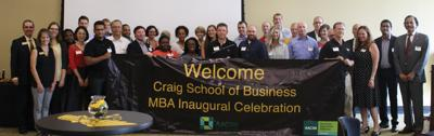 MBA inaugural celebration 25-1
